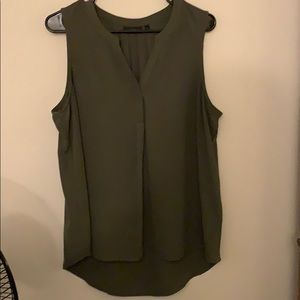 NWOT army green shell